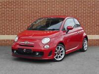 2010 10 Fiat 500 Abarth 1.4 T-Jet 3dr (Red, Petrol)