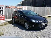 Ford Focus Estate Zetec 1.6TDCi ( 115ps ) 2012 62 **£20 Road Tax**