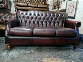 Thomas Lloyd Chesterfield 3 Seater Sofa