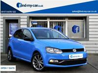 2015 15 Volkswagen Polo 1.2 TSI ( 90ps ) ( BMT ) ( s/s ) SE Design LOW £20 TAX