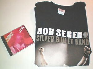 Bob Seger and The Silver Bullet Band Concert T and Live CD