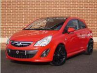 2011 61 Vauxhall Corsa 1.2 i 16v Limited Edition (Red, Petrol)