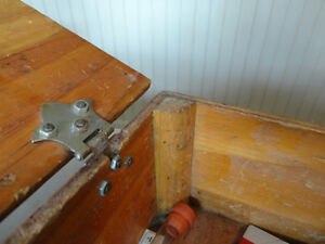 Custom Made Solid Wood Tool Box - from early 70's Kitchener / Waterloo Kitchener Area image 3