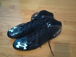 Underarmour football cleats size 15