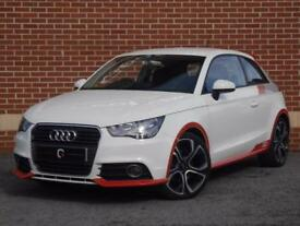 2011 61 Audi A1 1.6 TDI Competition Line 3dr (White/Red, Diesel)