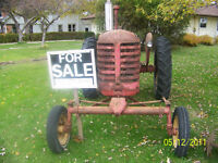 Attention MASSEY HARRIS collectors Classic tractor 4 SALE