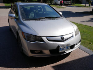 2010 Acura CSX Itech package