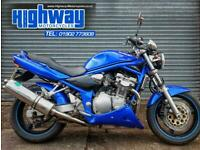 2004 Suzuki GSF600 Bandit Naked Bike, Extras, PX to Clear with 12 Month MOT