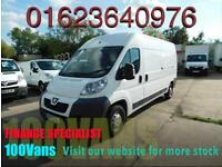 PEUGEOT BOXER 2.2HDi 130 335 L3 H2 6 SPEED LWB SAME DAY FINANCE