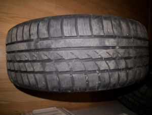 205/55/R16 Icebear Winter tires on Steel Wheels from 2009 Civic