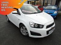2012 Chevrolet Aveo 1.3TD LT - White - Platinum Warranty!