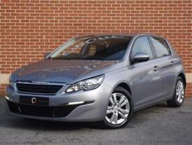 2014 14 Peugeot 308 1.6 HDi Active 5dr (Grey, Diesel)