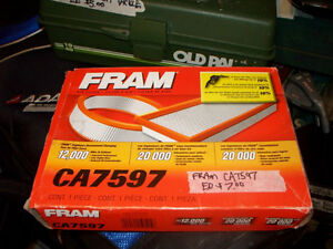 """New Fram CA7597 Air Filter.  Size is 9 1/4 x 7 x 1 3/4"""""""