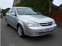 CHEVROLET 1.8 CDX LACETTI TOP OF THE RANGE LOW MILEAGE AUTOMATIC