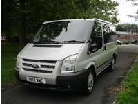 2012/12 FORD TRANSIT TREND TOURNEO 125 T280 - 9 SEATER - AIR CON - NO VAT