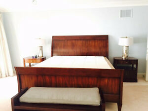 King size bed Final sale! Bought it at $10000+ London Ontario image 1
