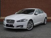 2013 13 Jaguar XF 2.2 TD Portfolio 4dr (start/stop) (White, Diesel)