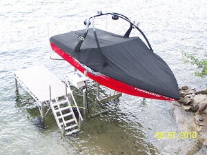 ShoreMaster Vertical Boat Lifts and Nelco Marine