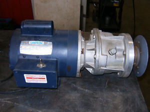 Gear motor speed reducer AC and DC