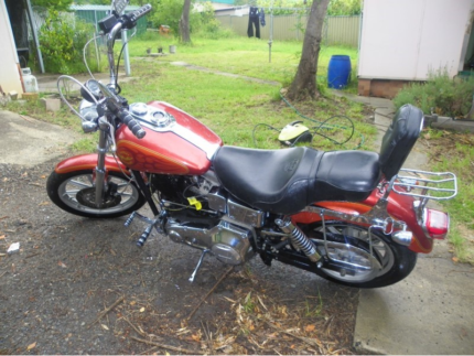 1995 Harley-Davidson Dyna Super glide (FXD) Wetherill Park Fairfield Area Preview
