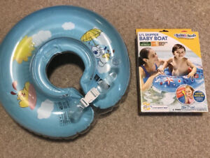 BNIB Baby Boat & Swimming Aid for Infant 6 to 18 months