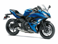 Brand New 2018 Kawasaki Ninja 650 Middleweight Starting From £6,449 KRT £6,649