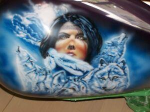 Peinture airbrush, aérographie personnalisé