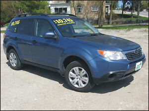 2009 Subaru Forester $10,745 + hst or $295 / month OAC*