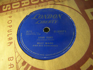 Rock 78 RPM! Billy Ward And His Dominoes! Star Dust! NM London!
