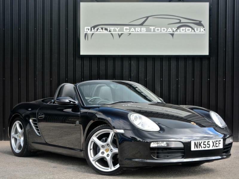 Porsche Boxster ( 987 ) 2.7 Manual * Black + Sports Heated Seats+BOSE+19s etc*