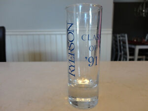 Vintage Ryerson University Shot Glass From 80's - Perfect Shape Kitchener / Waterloo Kitchener Area image 2