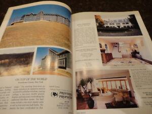 Vintage 1987 Unique Homes -The Magazine of Luxury Real Estate Kitchener / Waterloo Kitchener Area image 8