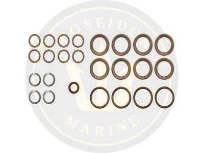 Fuel washer seal kit fuel pipe for Volvo Penta AD31B TAMD31B TMD31B
