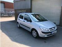 2008 HYUNDAI GETZ 1.1 GSI 5 DOOR ONLY 49,000 MILES WARRANTED