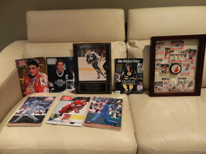 A Collection of Vintage Hockey Mags, Framed Cards & Plaque Kitchener / Waterloo Kitchener Area image 1