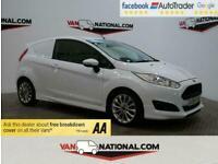 2016 Ford Fiesta 1.5 SPORT TDCI 95 BHP *NAV * AIR CON * EURO 6* CAR DERIVED VAN