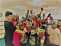 Offering boxing, kickboxing and muay thai for kids