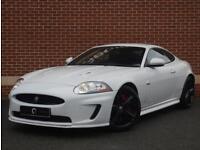 2010 60 Jaguar XKR 5.0 Supercharged 2dr (White, Petrol)
