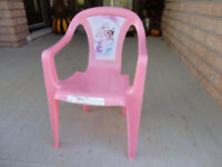 Toddler Pink Princess Chair for the room, Playroom or Patio/deck