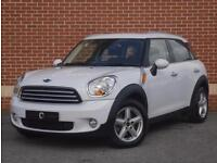 2012 62 Mini Countryman 1.6 Cooper (Pepper) 5dr (White, Petrol)`