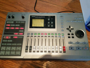 ZOOM MRS-1044 10 Track HDD Recorder, drum pads, bass lines, etc