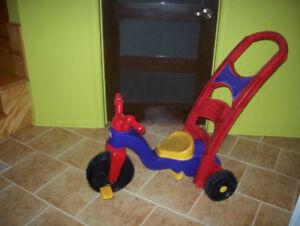 tricycle pour tout-petit ( 18 mois à 6 ans ) convertible 3 en 1
