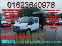 FORD TRANSIT 2.2TDCI 100PS EU5 RWD T350L DOUBLE CAB 6 SEATS TIPPER WITH TOW BAR+