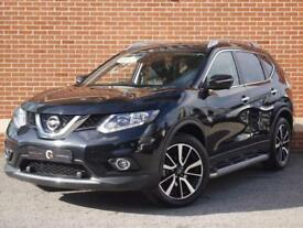2017 66 Nissan X-Trail 1.6 dCi N-Vision 4x4 5dr (start/stop) (Black, Diesel)