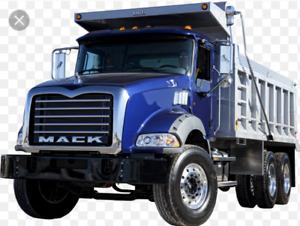 GTA Dump truck driver needed