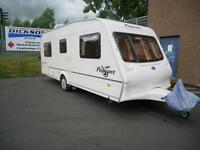 Bailey Pageant Bordeaux 4 Berth Fixed Bed Caravan