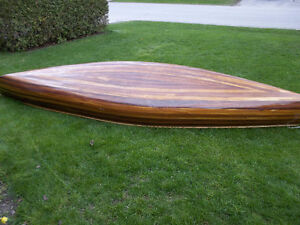 16 ft cedar strip canoe
