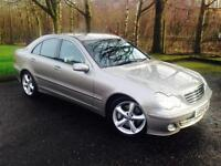 2004 Mercedes-Benz C Class 1.8 C200 Kompressor Avantgarde SE Saloon 4dr