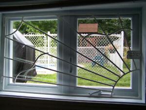 Grillages pour fenêtre