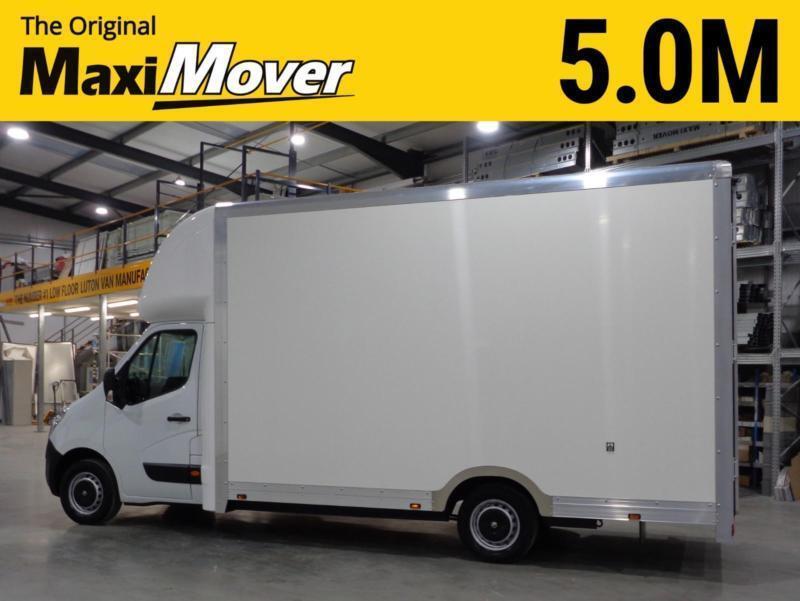 32dea206544497 2016 (16) Vauxhall Movano XXLWB 5.0M Maxi Mover Low Floor   Low Loader Luton  Va